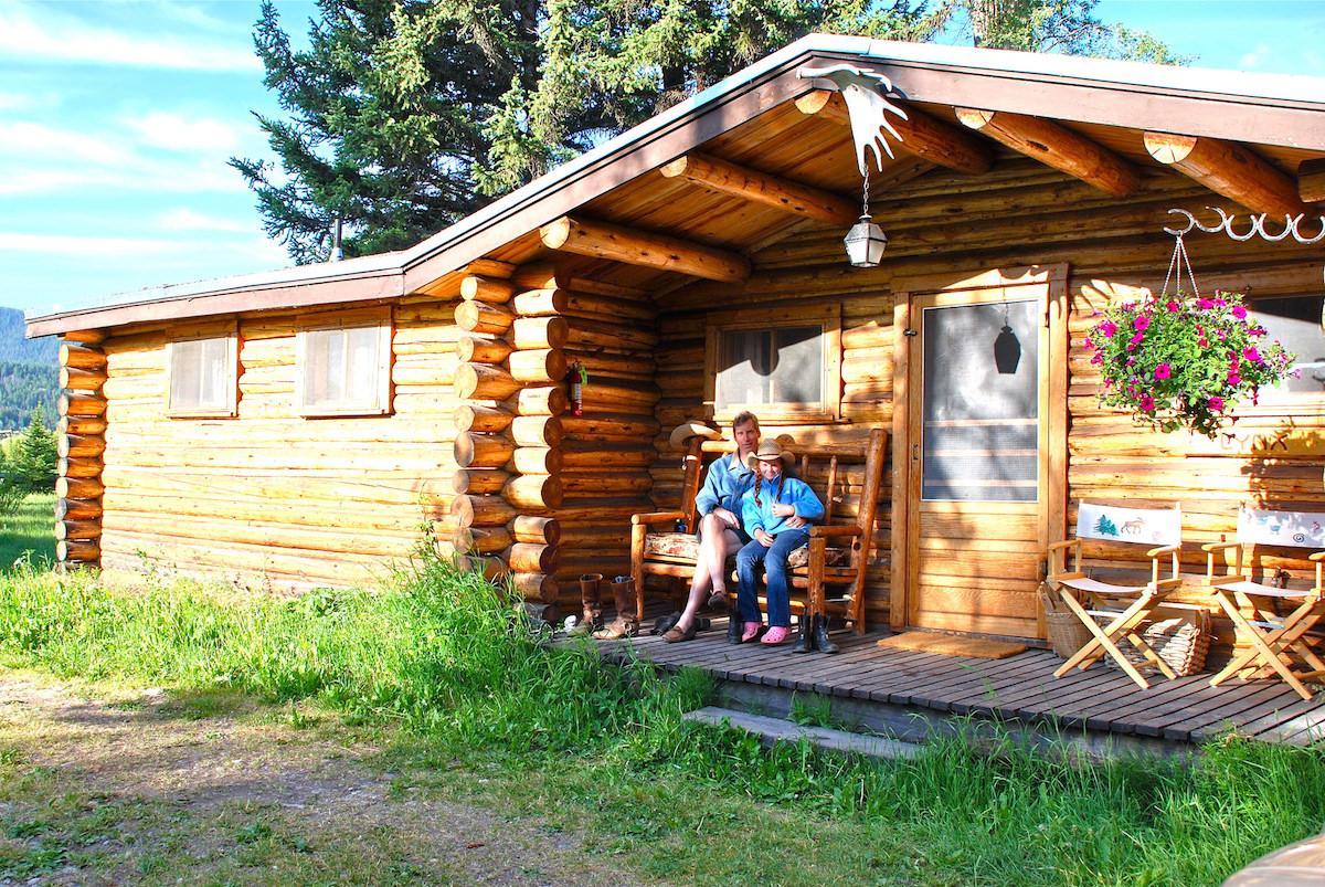 Cabins Moose Head Ranch A Jackson Hole Dude Ranch